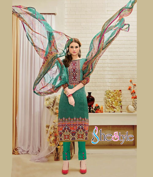 Incredible Cotton Digital Printed Salwar Material