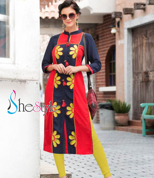 Sublime Rayon Cotton Kurti