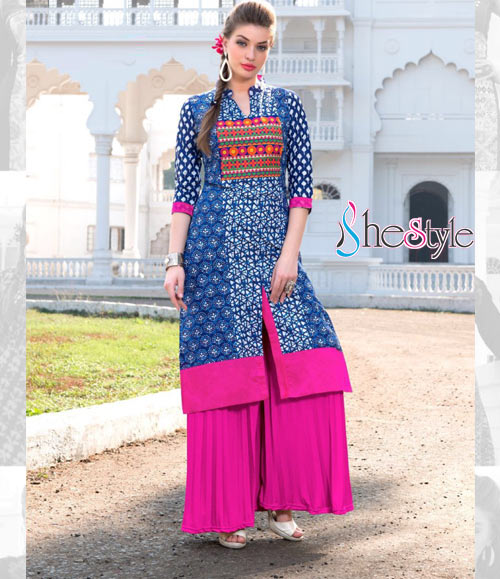 Astonishing Rayon Cotton Kurti